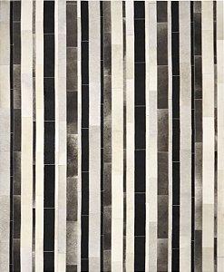 Tapete/Boi Subway 2,00 X 2,50 Branco/Preto/Gris/Grey