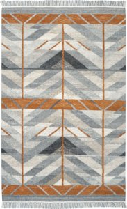 Tapete Kilim Tribal 1,40 X 2,00 Indiano Des/101
