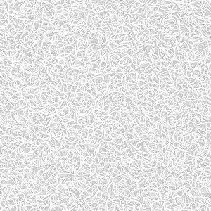 Capacho Vinílico Branco 26 - 1,20m x 0,10cm