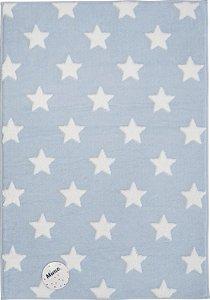 Tapete Mimo Estrelas 0,70 X 1,00 Azul