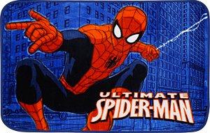 Tapete Marvel 0,70 X 1,10 Spider Man Predios