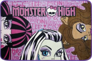 Tapete Mattel 0,80 X 1,20 para Sempre Monster High