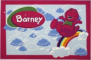 Tapete Barney 0,80 X 1,20 Diversos