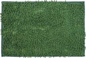 Tapete/Ban Bell Valley Chenille Shaggy 0,40 X 0,60 Verde