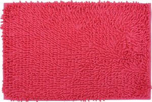 Tapete/Ban Bell Valley Chenille Shaggy 0,40 X 0,60 Rosa
