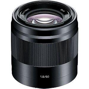 Lente Sony E 50mm f/1.8 OSS APS-C