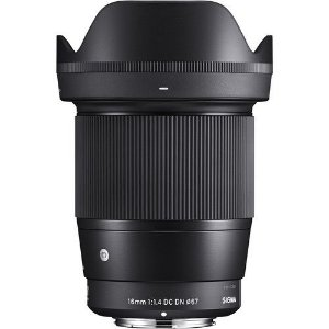 Lente Sigma 16mm F/1.4 DC DN Contemporary para Sony E-mount APS-C