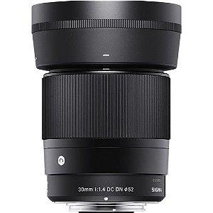 Lente Sigma 30mm F/1.4 DC DN Contemporary para Sony E-mount APS-C