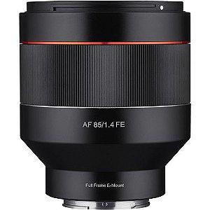 Lente Rokinon AF 85mm f/1.4 para Sony E-mount