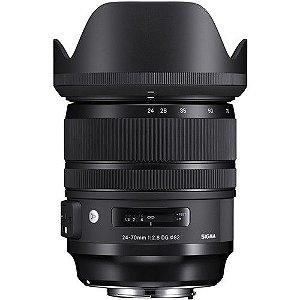 Lente Sigma 24-70mm f/2.8 DG OS HSM Art para Canon EF