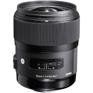 Lente Sigma 35mm f/1.4 DG HSM Art para Canon EF