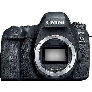 Camera Digital Canon DSLR EOS 6D Mark II Corpo NFe