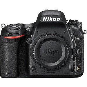 Camera Nikon DSLR D750 Corpo NFe