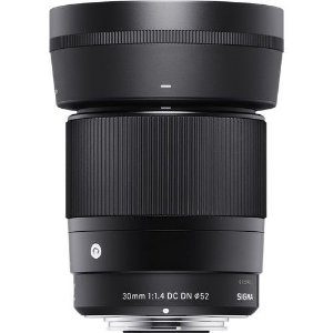 Lente Sigma 30mm F/1.4 DC DN Contemporary para Sony E-mount APS-C NFe