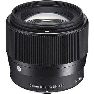 Lente Sigma 56mm F/1.4 DC DN Contemporary para Sony E-mount APS-C NFe