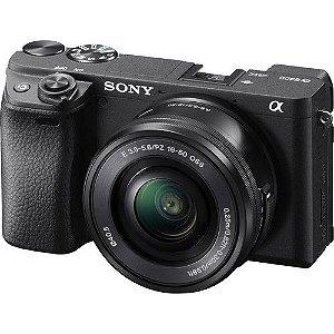 Camera Sony Alpha A6400 + 16-50mm F/3.5-5.6 OSS C/ Recibo