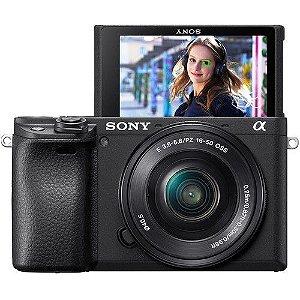 Camera Sony Alpha A6400 + 16-50mm F/3.5-5.6 OSS NFe