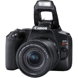 Camera Canon SL3 com 18-55mm STM