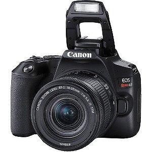 Camera Canon SL3 com 18-55mm STM NFe