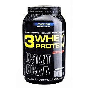 Whey Protein 3W (900g) Probiótica