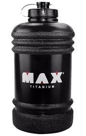 Galão de Água - Preto - 2,2 litros - Max Titanium