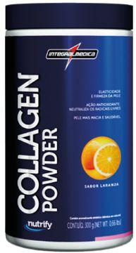 Collagen Powder (300g) - IntegralMédica Nutrify - Laranja