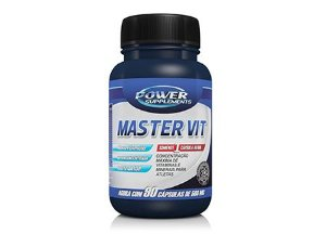 Master Vit (90 Capsulas) Power Supplements - Validade 07/2019