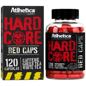 Hardcore Red Caps (120 Capsulas) Atlhetica