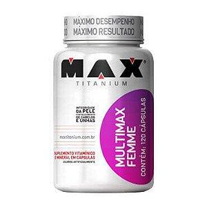 Multimax Femme (120 Capsulas) Max Titanium
