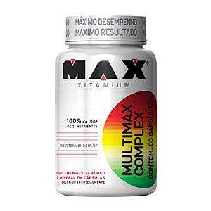 Multimax Complex (90 cápsulas) Max Titanium