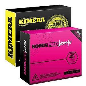 Kit Kimera Thermo (60 Capsulas) + Soma Pro Woman (45 Capsulas) - Iridium Labs