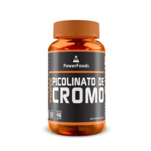 Power Picolinato de Cromo (120 Capsulas) PowerFoods