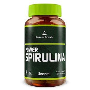 Power Spirulina (60 Capsulas) PowerFoods