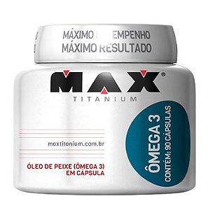Ômega 3 (90 Cápsulas) Max Titanium
