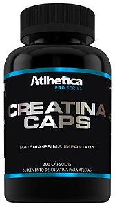 Creatina Pro Series Caps (200 cápsulas) Atlhetica