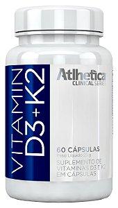 Vitamin D3 + K2 (60 cápsulas) Atlhetica