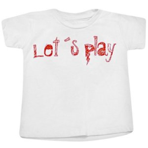 Camiseta Let's Play