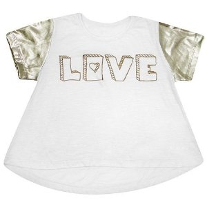 Camiseta Maga Love Metalizada