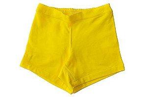 Shorts Feminino Amarelo