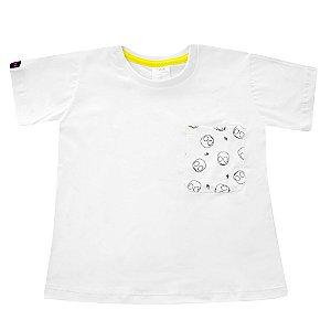 Camiseta Bolso Estampado