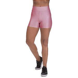 Shorts Cirre 3D Poliamida Rose