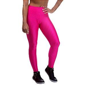 Legging Fitness Feminina 3D Cirre Rosa
