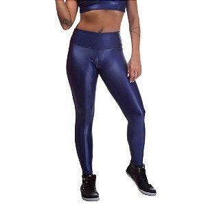 Legging Feminina Cirre Poliamida Azul
