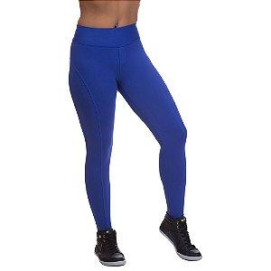 Calça Feminina Legging Miss Blessed Montaria Azul
