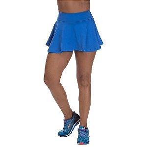 Shorts Saia Colegial Poliamida Azul
