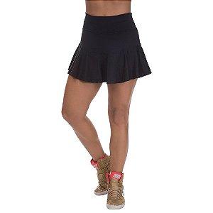 Shorts Saia Confort Rodado Preto