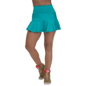 Shorts Saia Miss Blessed Confort Rodado Verde