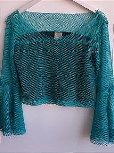 blusa telada refazenda