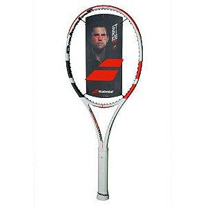 Raquete De Tênis Babolat Pure Strike L3 4 3/8 Branca
