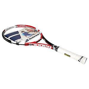 Raquete De Tênis Babolat Drive Max 105 Power E Comfort L3 Vermelha/Preta